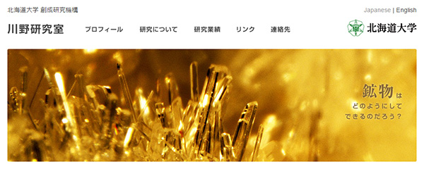北海道大学 川野研究室